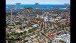 426-428 Kingsway & 1-3 Hinkler Avenue, Caringbah NSW - Map