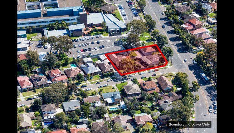 426-428 Kingsway & 1 Hinkler Avenue, Caringbah NSW - Aerial Picture